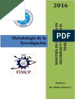 Clase Metodologia de La Investigacion