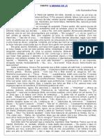 A MENINA de LÁ (Texto Original)