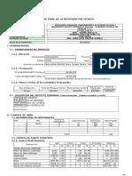 Informe de Liquidacion Pallalla 1 y 2 Afasfsaf
