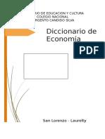 Diccionario Económico