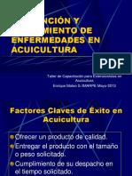 13 Practicas Sobre Prevencion y Tratamiento de Enfermedades en Acuicultura