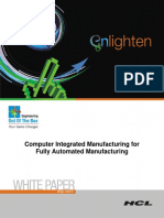 Computer Integrated Manufacturing for Fully Automated Manufacturing (1)