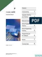 SIMEAS P Manual Complete