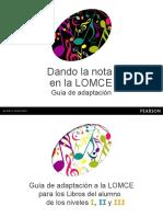 Guia LOMCE Dando La Nota (1)