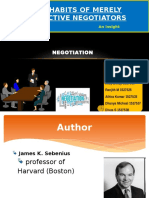 Negotiation Ppt