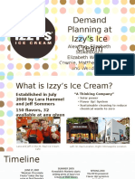 Demand Planning - Izzy's - Alex Jing's Edits