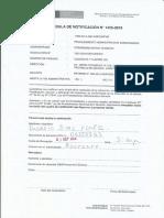 53 UIT de Sanción Por No Cumunicar Acciones de Remediación Informe-1238-2016-OEFA