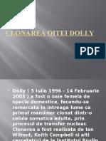 Clonarea Oitei Dolly