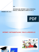 Internet, Instrumentalidad Para El Aprendizaje