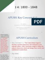 APUSH - Concept - 4.1.I - Harding