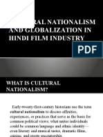 Cultural Nationalism and Globalization in Hindi Film Industry