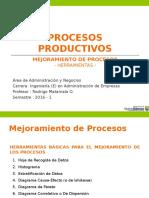 3. PROCESOS PRODUCTIVOS - RM PVG 2016 01 Herramienta Mejoramiento de Procesos .pps