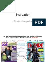 Evaulation Presentation