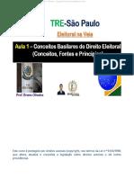 Aula 01 - Conceitos Basilares Do Direito Eleitoral_Conceitos Fontes e Princípios