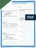 Actividad de Matematicas