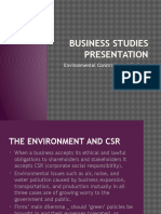 Business Studies Presentation