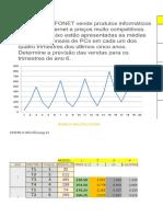 Exercicio 4 de Métodos de Decomposição (Modelo Multiplicatico e Aditivo) Corrigido