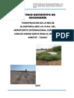 Informe Final Red Desague Tacna