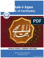 Kitab-i-Iqan (Book of Certitude)