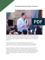 16.10.16 Unidad Fundamental Para Ganar Elecciones- RMV