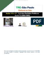 Aulas 10 e 11 - Lei Dos Partidos Políticos_Lei_nº_9096_1995