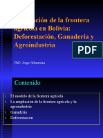 Deforestación Ganaderia y GEI Transgenicos Bolivia