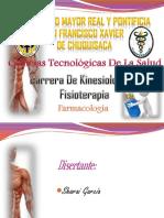 Farmacologia Esqueletica Aplicada a la Fisioterapia