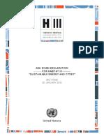 Declaration Abu Dhabi
