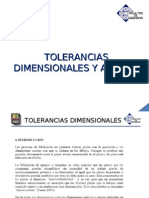 Tolerancias Dimensionales y Ajustes