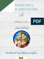 5 Claves Para Educar Para La Paz montessori en Casa