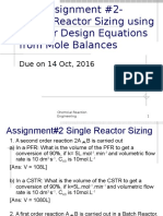 CRE-Assignment 2_Single Reactor Sizing
