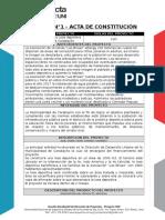 Taller 1 Acta de Constitución Editable