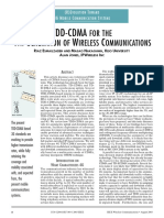 TDD-CDMA FOR THE 4G OF WIRELESS COMMUNICATIONS