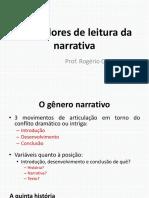 Operadores de Leitura Da Narrativa