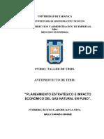 Anteproyecto Mba -Gas Natural (1)