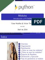 Iniciacion Python Modulos