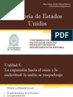 Unidad 5 Expansión Hacia El Oeste y Economía Dual - Historia de EEUU UdeA