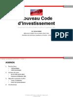 Code Investissements 2016