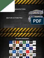 Presentación Sector Automotriz Procesos de Manufactura