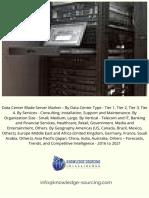 Data Center Blade Server Market - Knowledge Sourcing Intelligence