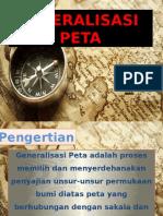 Generalisasi Peta