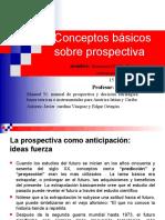 Conceptos de la Prospectiva