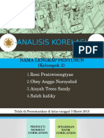 Ppt Statistik Analisis Korelasi Metod