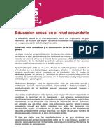 27_5_Educacion Sexual en El Nivel Secundario