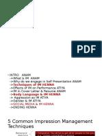 Presentation- Impression management FINAL.pptx