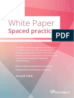 Spaced Practice - Donald Clark