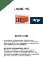 Clase La Albañilería 2015 i