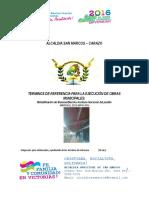 ESPECIFICACIONES TECNICA Rehabilitación de Sistema Eléctrico Instituto Nocturno Del Pueblo