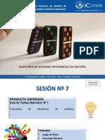 Auditoria SIG PPT sesión 7