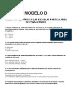 Exam End e Director de Auto Escuela Model Od